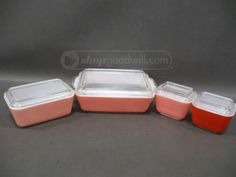 shopgoodwill.com: Pyrex 8-Piece Refrigerator Dishes