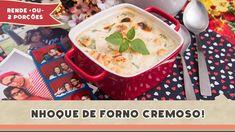 Nhoque de Forno Cremoso - Receitas de Minuto EXPRESS #102