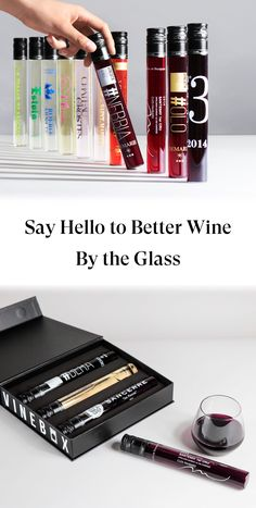 Curated Wines, Renowned Vineyards, Patented Glass Bottles. Sign up today!