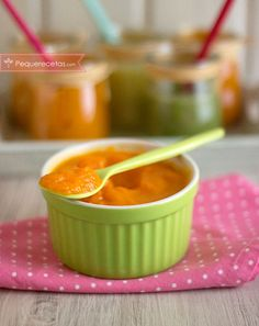 Puré de patata y zanahoria para bebés Baby Food Recipes, Healthy Recipes, Baby Puree, Baby Eating, Baby Led Weaning, Mini Foods, Healthy Life, Menu, Pure Products