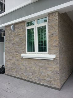 Stone panels to improve the face of your home