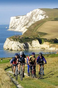 20 World's Best Cycling Routes That'll Take Your Breath Away	- Isle of Wight, Great Britain.  Start planning your next adventure now! #bike #touring