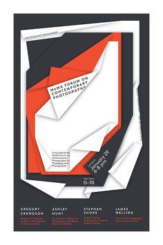 MoMA Forum - Graphic Poster Design by Jessica Svendsen