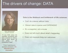 Data driving change in healthcare