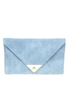 #ASOS Pyramid Metal Tip clutch: does it get more hip than this? #envelopeclutch #summerbags #budgetbuy