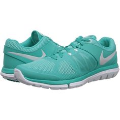 Nike Flex 2014 Run Women's Running Shoes, Green ($33) ❤ liked on Polyvore featuring shoes, athletic shoes, nike, sneakers, flats, green, running shoes, athletic running shoes, green flat shoes and nike athletic shoes