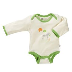 Oh Soy Bodysuit - Zebra by BabySoy at BabyEarth.com, $15.95