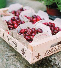 Cherry Wedding Favours