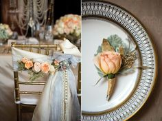 Minnesota The Jazz Age: Great Gatsby Inspired Wedding Decor Gatsby Wedding Decorations, Great Gatsby Themed Wedding, 1920s Wedding, Art Deco Wedding, Wedding Themes, Wedding Designs, Wedding Ideas, Gatsby Party, Vintage Weddings