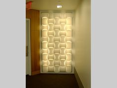 3-form woven feature wall