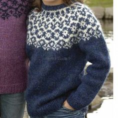 modèle tricot pull garcon 12 ans You are in the right place about pulli sitricken lochmuster Here we Fair Isle Knitting Patterns, Knit Patterns, Pull Jacquard, Norwegian Knitting, Icelandic Sweaters, Nordic Sweater, Crochet Wool, Angora, How To Purl Knit