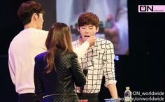 BinSuk moment in JongSuk fan meeting in Seoul  #woobin #jongsuk