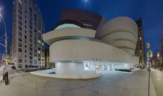Frank Lloyd Wright's Guggenheim. The man was a genius!