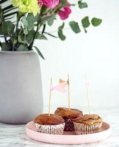 Skøn opskrift på dejlige hverdagsmuffins uden sukker - få opskriften på de sukkerfri muffins her, de smager super dejligt