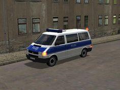 VW T4 Einsatzfahrzeuge - Polizei. Ab #EEP8 http://j.mp/VW-T4-Einsatzfahrzeuge