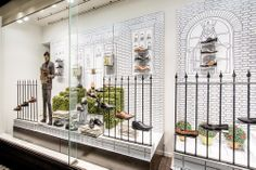Clarks Window Display | Autumn/Winter, 2013 by Millington Associates