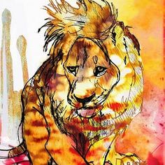 Art - LEO watercolor