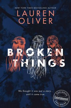 #CoverReveal Broken Things by Lauren Oliver
