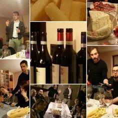 Ecco alcuni momenti della serata di degustazioni organizzata da Libera-mente no profit