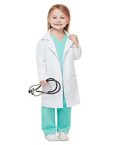 Toddler Halloween Costumes & Ideas for 2018 Holloween Costumes For Kids, Doctor Halloween Costume, Kids Costumes Girls, Nurse Costume, Toddler Costumes, Girl Costumes, Kids Outfits, Toddler Doctor Costume, Toddler Princess Costume