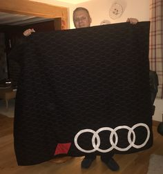 Audi RS quilt with upholstery matching quilting