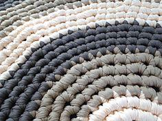 T- Shirt Yarn Round Rug pattern by Meladoras Creations