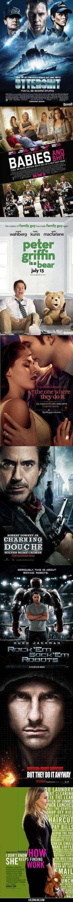 Literal Movie Posters…
