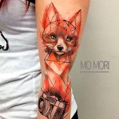Fox by Mo Mori Tattoo : Best_tattoos