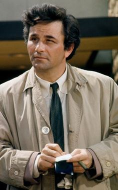 ~The late actor Peter Falk Played the dishevelled detective Columbo