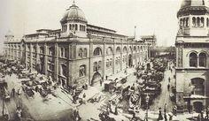 Berlin, Max Missmann, Zentralmarkthalle am Alexanderplatz, 1906.
