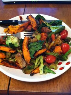 Quick and easy vegetarian meal ideas...healthy and delicious!