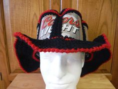 A #CanHead shape to fit! https://www.etsy.com/listing/214529887/new-coors-light-beer-can-hat-built-in