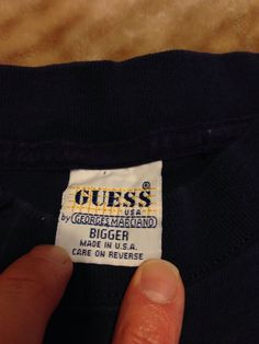 Guess Vintage Guess Jeans Usa Black Sweater | Grailed