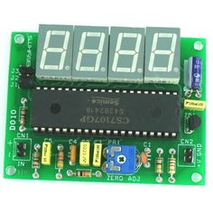 Digital Panel Meter performs digital processing on or conversion and display of voltages, currents, other analog signals, and pulse signals. This project is bas Electronic News, Electronic Circuit Projects, Electronic Engineering, Hobby Electronics, Electronics Projects, Electronics Components, Power Supply Design, Analog To Digital Converter, Power Supply Circuit