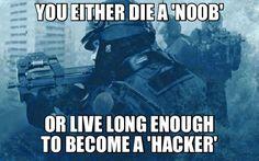 Noob, or Hacker... -_-