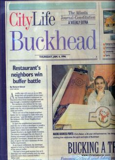 Buckhead Outfitters in The AJC