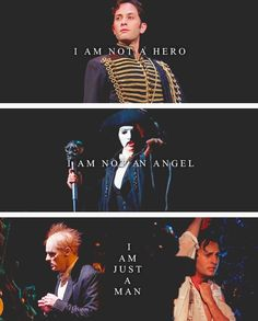 Not a hero. Not an angel. Just a man. The Phantom of the Opera.