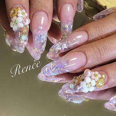 Nails Bridal Nail Art, Nail Artist, Instagram Posts, Beauty, Collection, Beauty Illustration, Wedding Nail