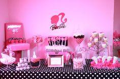 Decoração de Festa Infantil Barbie - Fotos Moda e Magia, Castelo do Diamante e Segredo das Fadas