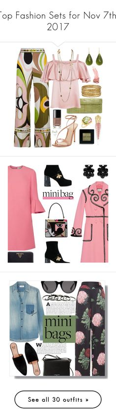 """Top Fashion Sets for Nov 7th, 2017"" by polyvore ❤ liked on Polyvore featuring Elizabeth Arden, Emilio Pucci, Nancy Gonzalez, Temperley London, Gianvito Rossi, Nava Zahavi, Michael Kanners, Christian Louboutin, Chanel and Bobbi Brown Cosmetics"