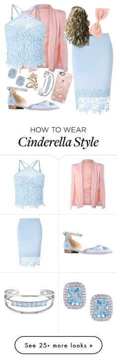"""Cinderella"" by abstractdisbey on Polyvore featuring Lipsy, Marchesa, Casetify, Catherine Malandrino and Accessorize"