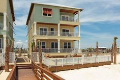 Playa Bella Vacation House - Gulf Beach, Alabama. 13 BR (10 + 3 add'l sleeping areas) - sleeps 36. Private pool, private walk to beach. Community pool and showers - in gated community. Weekly rate $11,200. Also see http://www.kaiserrealty.com/bre/properties/PLAYA-BELLA-LOT-1/