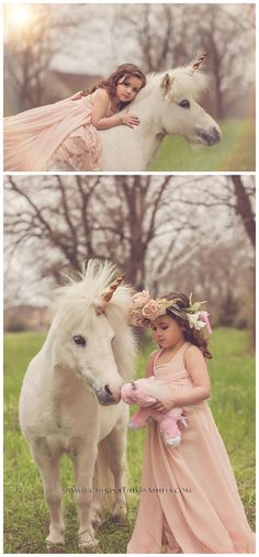 ideas children photography girls beautiful pictures ponies for 2019 Toddler Photography, Horse Photography, Girl Photo Shoots, Girl Photos, Unicorn Pictures, Unicorn Pics, Mini Pony, Fairies Photos, Horse Costumes