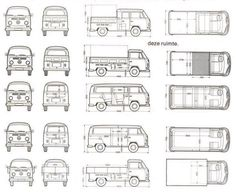 Volkswagen Transporter T2 | SMCars.Net - Car Blueprints Forum