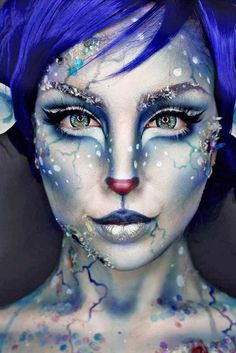 Fantasy Makeup Ideas to Learn What its Like to Be in the Spotlight ★ See more: http://glaminati.com/fantasy-makeup-ideas/