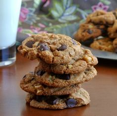 Chocolate Chip Cookies are a favorite in any household. We all need that big, soft, chewy cookie that reminds of of our childhood. :)