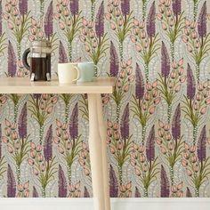 Abigail Borg Foxtail Lily Wallpaper