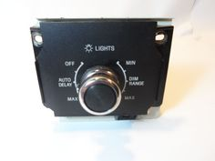 1988-1989 Lincoln Town Car Headlight Switch w/ Auto Delay Dimmer E0VB-10A909-AA #FordLincoln