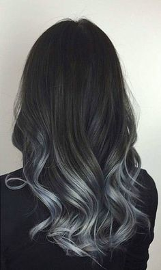 awesome Magnifying Ombre Grey Hair Colors, Want to prepare to fulfill winter appropriately? Here is an efficient approach to do it - dye hair into gray! Well, the moods of autumn and winter...