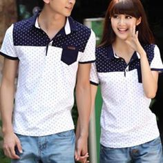 Buy Igsoo Print Couple Short-Sleeve Polo Shirt at YesStyle.com! Quality products at remarkable prices. FREE WORLDWIDE SHIPPING on orders over US$35.